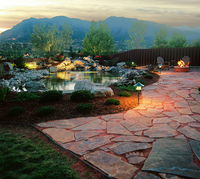 Creating Landscapes Since 2005. Serving Colorado Springs ... - Xeriscaping Gallery – Dakine Landscaping – Colorado Springs Best
